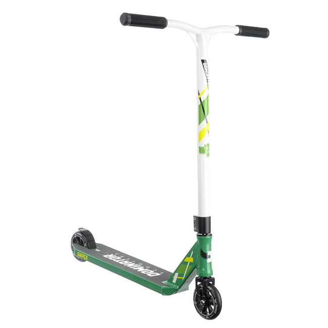 Dominator Sniper Complete Scooter - green/white