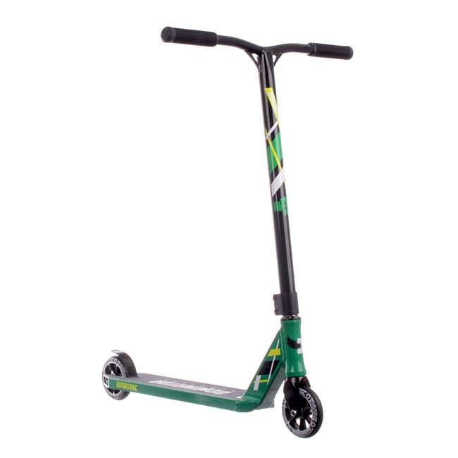 Dominator Airborne Complete Scooter - green/black