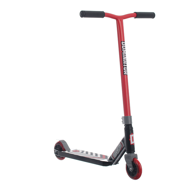 Dominator Scout Complete Scooter - red/black