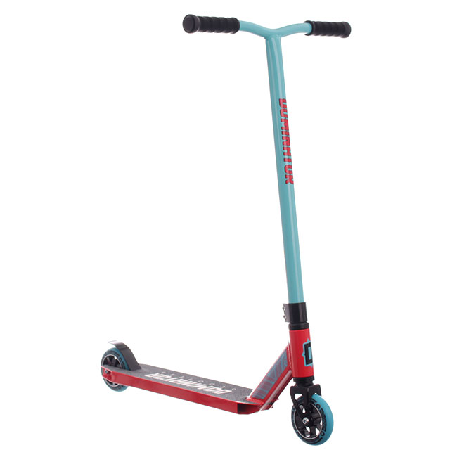 Dominator Ranger Complete Scooter - turquiose/red