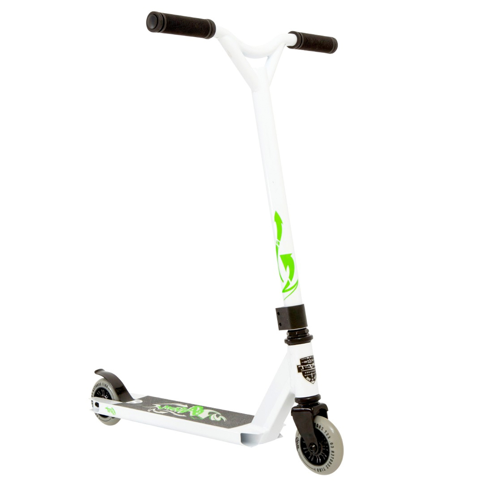 Grit Complete Scooter Atom - White/Green