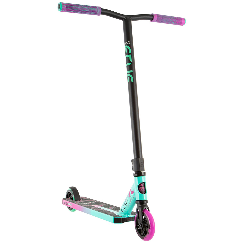 Madd Gear Scooter Carve Elite - pink/teal