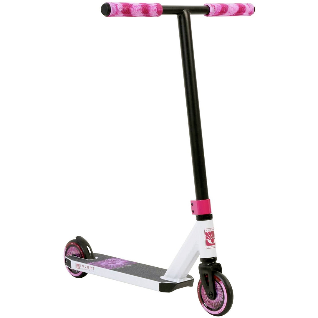 Invert Supreme Mini Scooter - White/Black/Pink