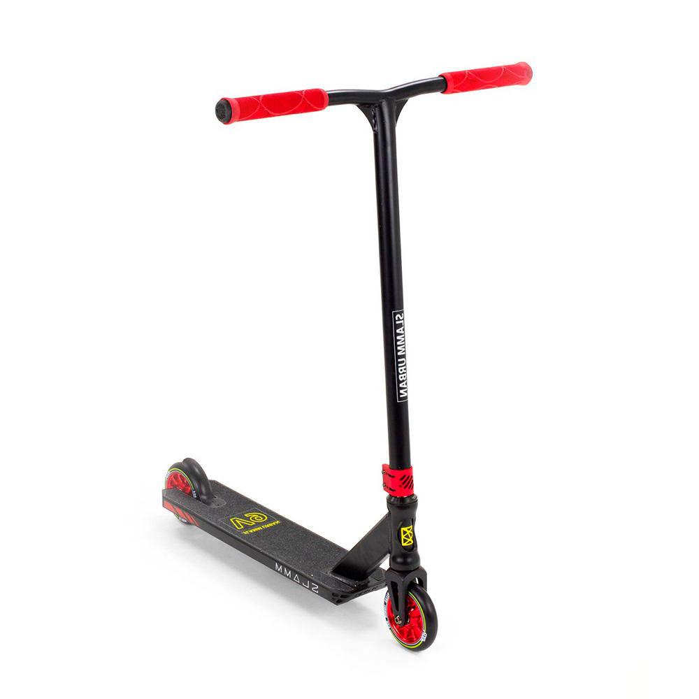 Slamm Urban V9 Scooter - schwarz/rot